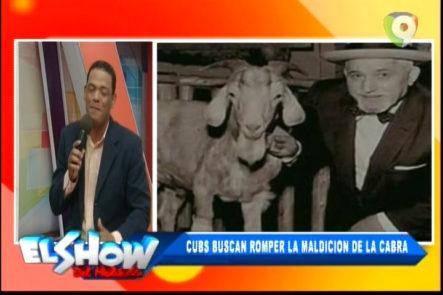 """Los deportes en el Show del Medio Día con Frank Santana: Cubs buscan romper """"la maldición de la cabra"""""""
