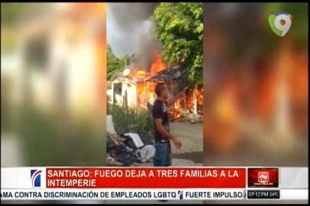 En Navarrete Un Fuego Deja A Tres Familias De Nacionalidad Haitiana En La Intemperie