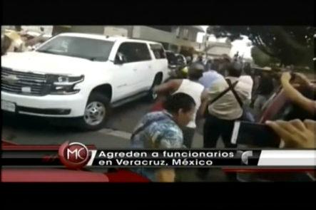 Agreden A Importantes Funcionarios En Veracruz, Mexico.