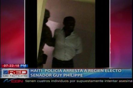 En Haití Es Apresado El Recién Electo Senador Guy Philippe
