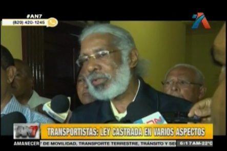 Transportistas Valoran Nueva Ley De Tránsito Pero Divulgan Que Ley Fue Castrada En Varios Aspectos