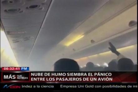 En Nigeria Una Nube De Humo Siembra El Pánico Entre Los Pasajeros De Un Avión