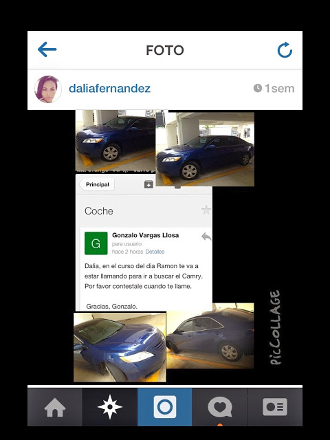 Ex novio le quita carro a Dalia Fernández