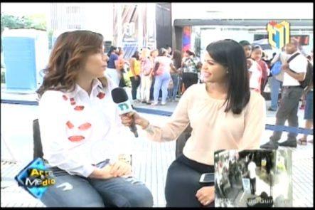 Entrevista A Isaura Taveras Con Su Programa Especial Top 13 Por Telesistema