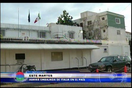 Embajada Italiana Abrirá Sus Puertas Nuevamente En El País