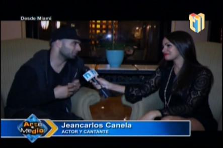 Entrevista a Jean Carlos Canela en Arte y Medio desde Miami