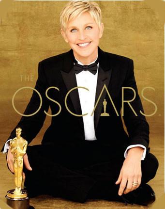 Ellen DeGeneres presentará la Gala de los premios Óscar