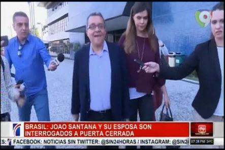 Joao Santan Y Mónica Moura Son Interrogados A Puerta Cerrada Una Vez Más