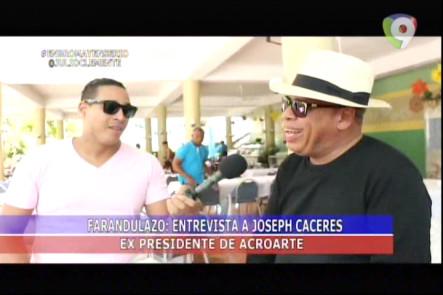 Joseph Cáceres Habla De Los Problemas Con Los Premios Soberano