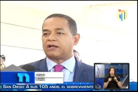 Senador Julio Cesar Valentín Defendió Su Gestión Como Presidente De La Cámara De Diputados Durante Su Período
