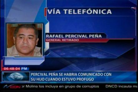 Se Filtra Audio De Percival Peña En Comunicación Con Su Hijo Mientras Estuvo Prófugo