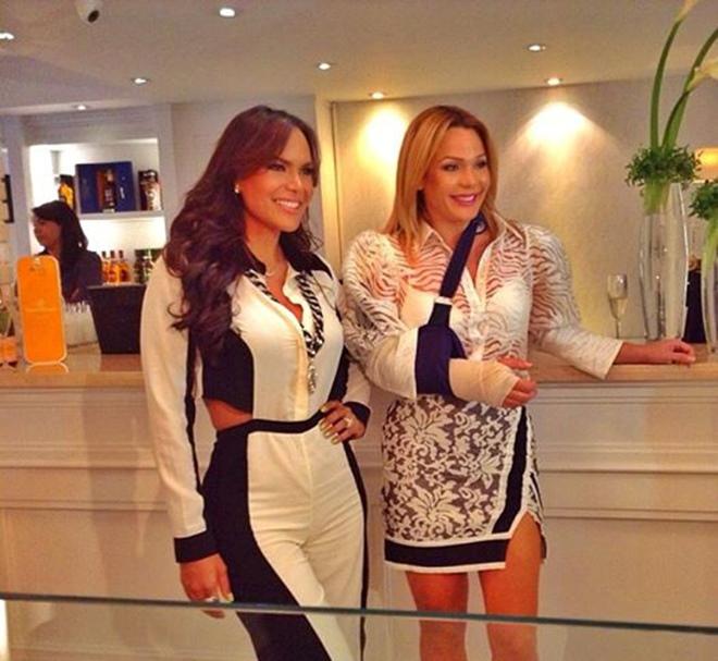 Georgina Duluc y Luz García serán las conductoras del Miss República Dominicana Universo 2014