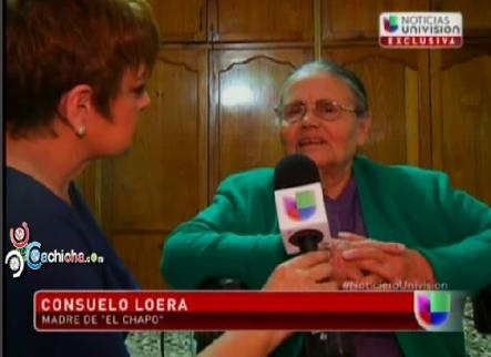 Entrevista Exclusiva A La Mamá Del Chapo Guzmán #Video