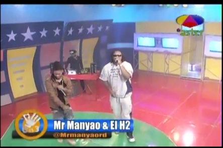 Presentación de Mr. Manyao y El H2 en Cero es Tres con Masa