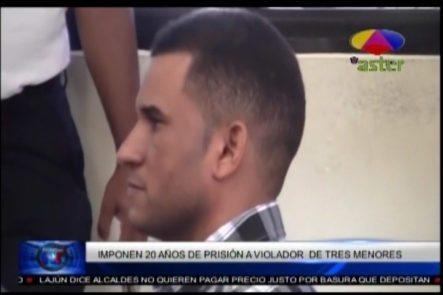 Imponen 20 Años De Prisión A Un Hombre Acusado De Violar A Tres Menores En Valverde, Mao