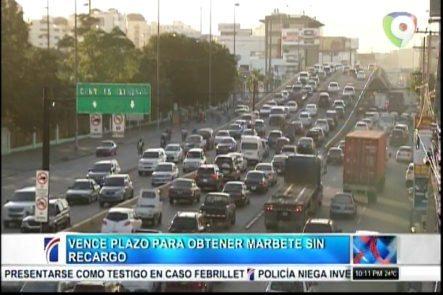 Más De 150k Vehículos Aún Sin Renovar Su Marbete Apesar De Vencer Plazo