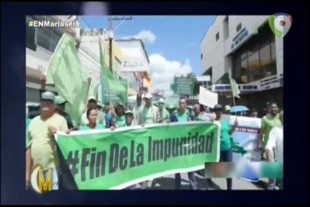 Mariasela Alvarez Y Diana Lora Comenta Sobre La Marcha Verde En San Francisco De Macorís Y Caso Odebrecht