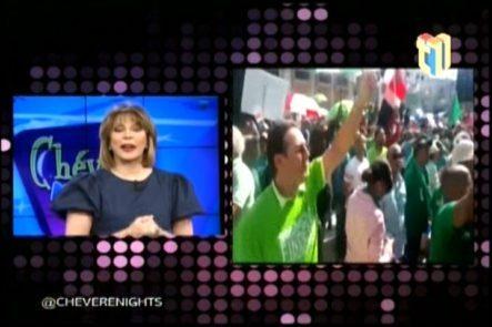 En Chévere Nights Se Comenta Sobre La Marcha Contra La Corrupción Y Sus Expectativas Futuras