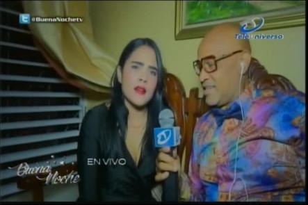 """Entrevista En Exclusiva A Martha Heredia Desde La Casa De Su Madre Con Nelsón Javier """"El Cocodrilo"""" En Buena Noche"""