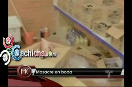 Masacre en una boda en México #Vídeo