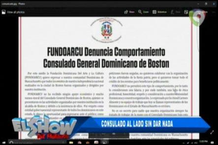 Rafael Ventura Sin Censura: Consulado Al Lado Sin Dar Nada