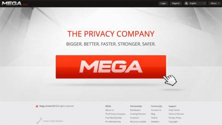 Mega recibe 150 avisos por violación de derechos de autor