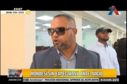 El Ex Alcalde Raul Mondesí dice no tener expectativas ante su próximo juicio con la justicia