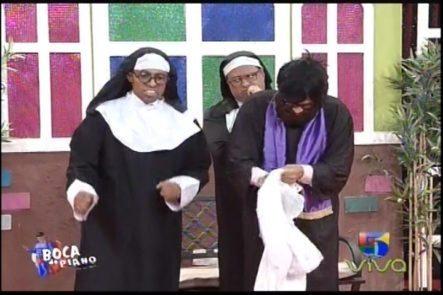 Las Hermanas Del Convento Y La Inspección Del Papa En Boca De Piano Es Un Show