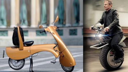 Presentan dos nuevos modelos de vehículos urbanos del futuro