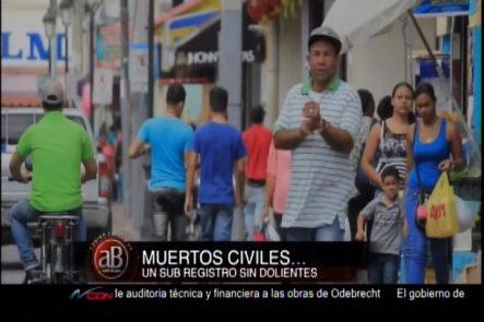 «Código Calle» Con Addis Burgos: Muertos Civiles, Un Sub Registro Sin Dolientes