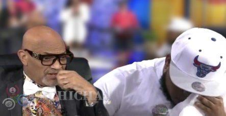Nelson Javier 'El Cocodrilo' Hace Llorar A Chimbala En Una Entrevista