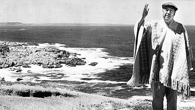 Neruda en Isla Negra