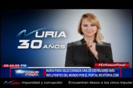 Nuria Piera Es Seleccionada Una De Las Mujeres Más Influyentes Del Mundo Por El Portal Richtopia.com