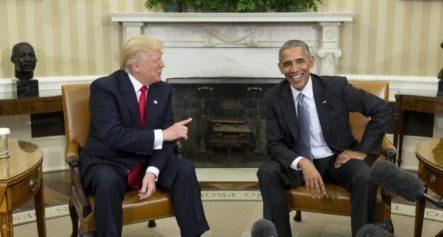 Barack Obama Y Donald Trump Se Van En Elogios Tras Primera Reunión
