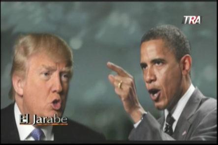 Recordando un debate entre Donald Trump y Barack Obama en El Jarabe con Marino Zapete