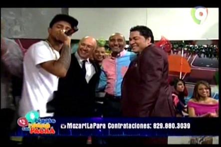 """Presentación Completa De Mozart La Para En """"Pégate Y Gana Con El Pachá"""" #Video"""