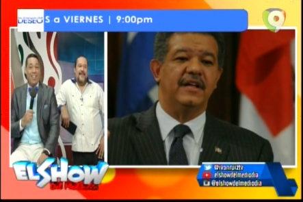 ¡Cualquier parecido a la realidad, es pura coincidencia! Llamada de Leonel Fernandez y Danilo Medina En El Show del Medio Día (PARODIA)
