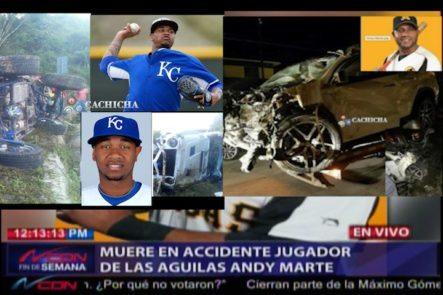 Día Negro Para El Béisbol Dominicano Al Morir Dos Peloteros En Accidentes De Tránsito