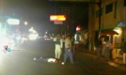 ¡De Película! Policías Le Quitan La Vida A Un Delincuente Frente A Un Destacamento En Santiago #Video
