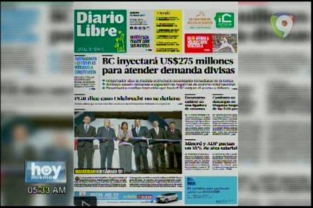 Portada De Los Principales Periódicos Del País 16-marzo-2017
