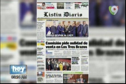 Portada De Los Principales Periódicos Del País 01-Febrero-2017