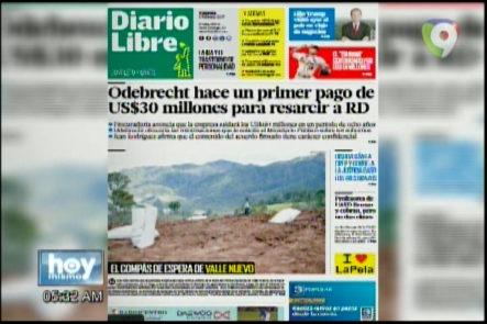 Portada De Los Principales Periódicos Del País 03-Febrero-2017