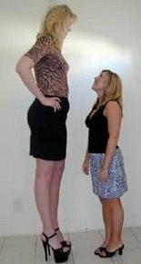 personas altas