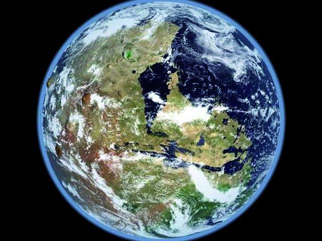 El Planeta Rojo presentaba formas y accidentes que se parecen al planeta Tierra.