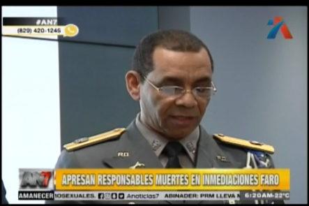 Agentes De La PN Apresan Los Responsables De Las Muertes En Las Inmediaciones Del Faro A Colón