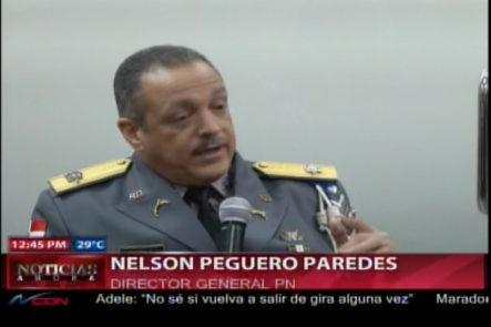 Director De La PN Niega La Delincuencia Haya Producido Más De 100 Muertes