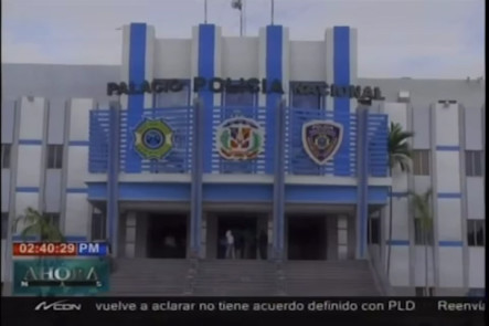 PN Arresta Raso De La Institución Y Un Haitiano Por Asalto Autobús #Video