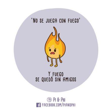 Pobrecito el fuego #LaImagenDelDia