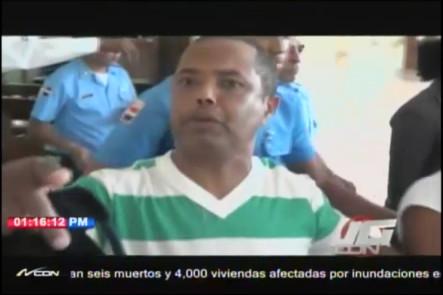 Preventiva De 30 Días A Personas Que Armaron Rebú En El Palacio De Justicia De Santiago