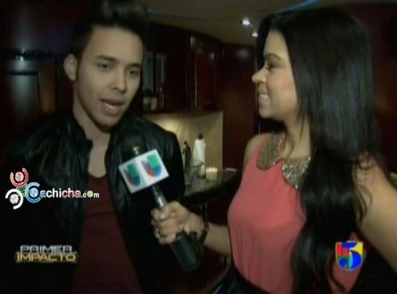 Entrevista A Prince Royce En Primer Impacto #Video